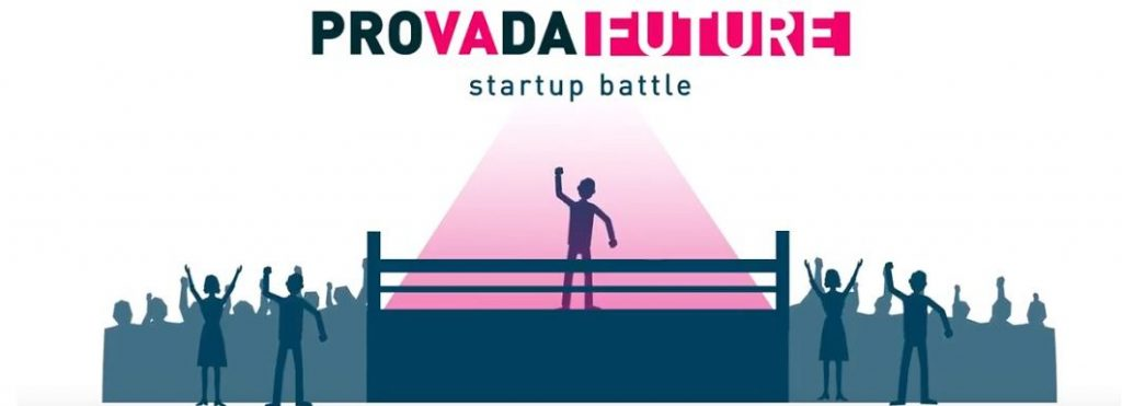 The Provada startup battle logo
