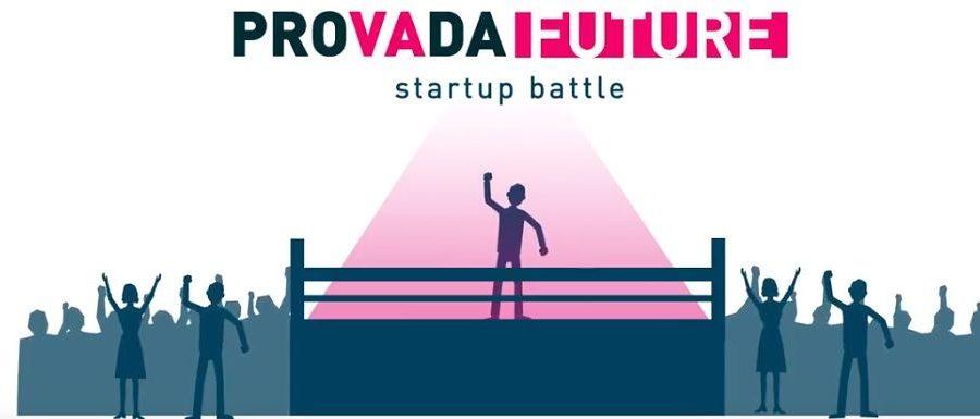 The Provada startup battle logo