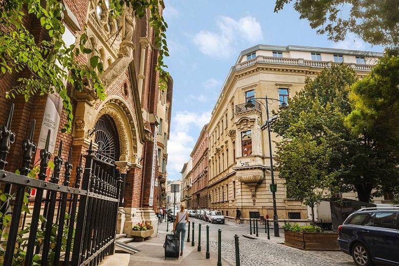 The Palazzo Zichy, Budapest