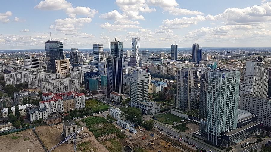 The capital, Warsaw, accounted for around 60% of total spend on Poland commercial property