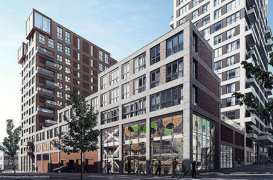 PATRIZIA AG has bought this residential BTR development in Amsterdam.