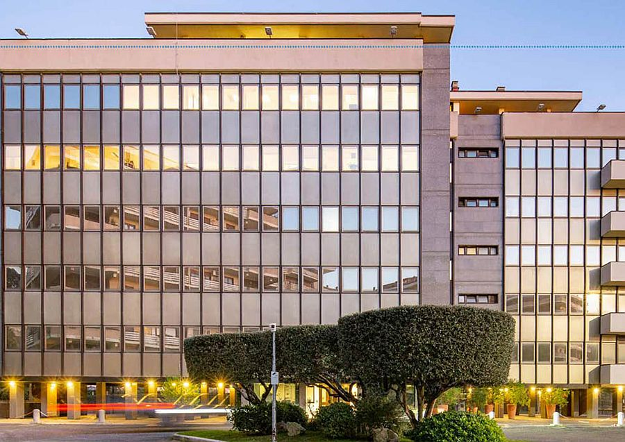 The transaction of the fully-let office marks the fund's second sale