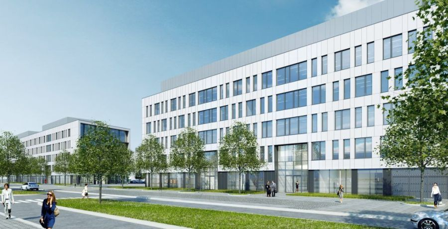 The last office has been sold in the Au Fil Des Grands Pres mixed-use project