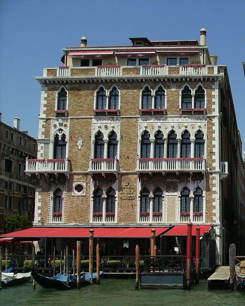 Hotel Bauer Palazzo in Venice has new owner - Consorto
