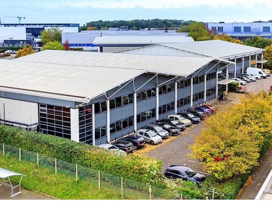 The 63,000 sq. ft. Centro Industrial Estate