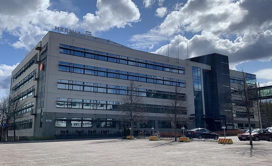 One of the offices in Hermia technology park