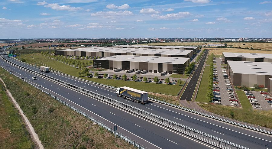 VGP is developing the new VGP Park Arad in West Romania