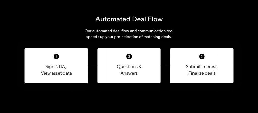 Deal Flow user benefits