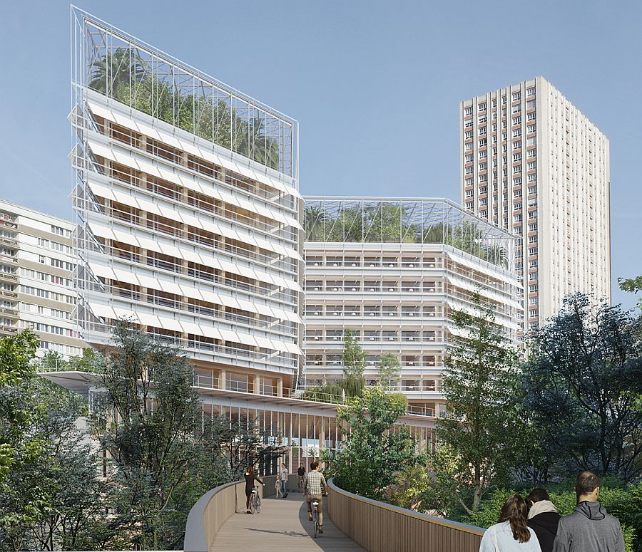 SEGRO and Icade have agreed to acquire land to redevelop the Gobelins rail station, in the 13th district of Paris