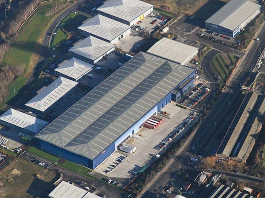 The distribution unit near Sheffield city centre