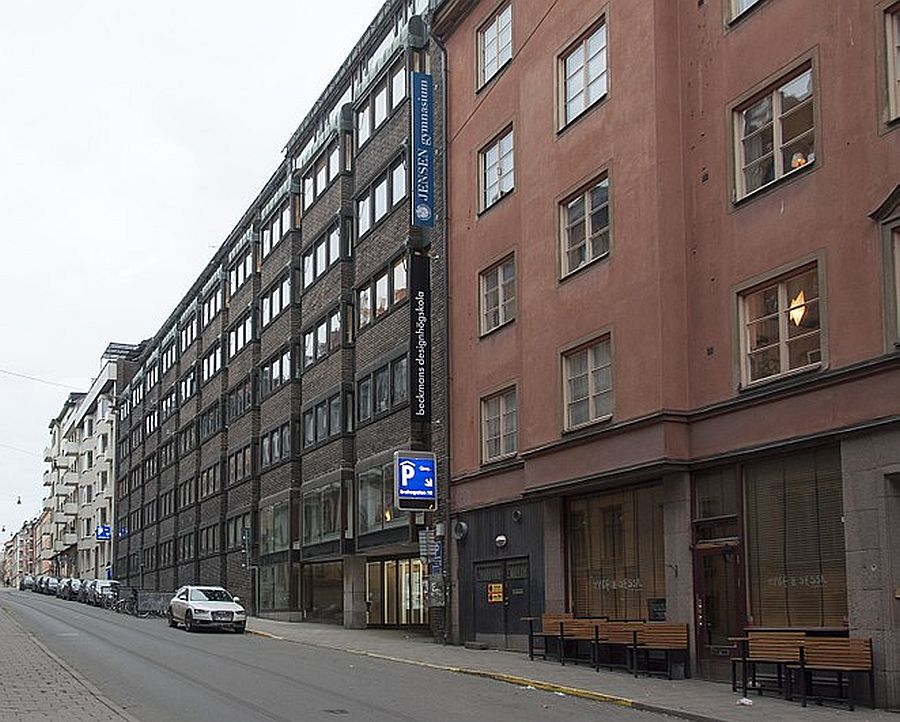 The off-market offices at Skvalberget 33