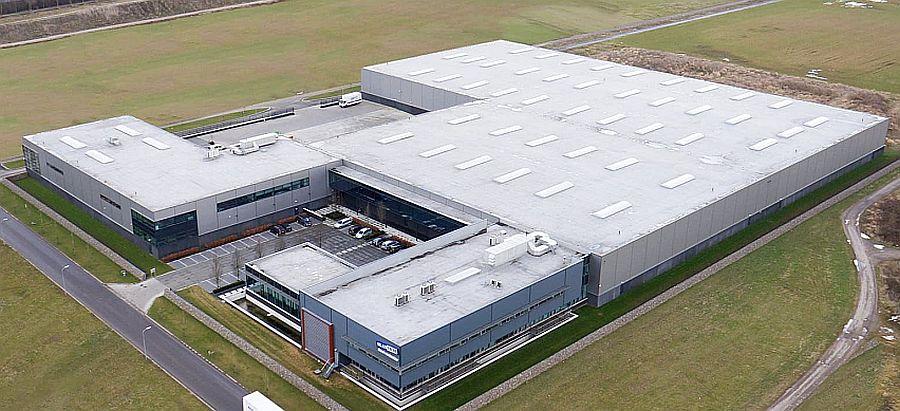 One of the three Dutch warehouses
