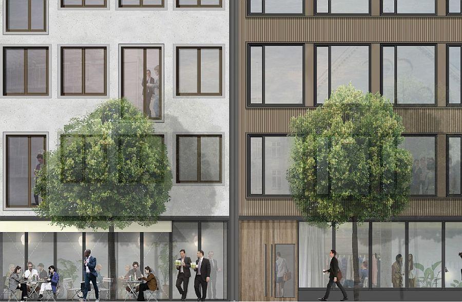 The Lindevangs Allé 8-12, Frederiksberg office impression