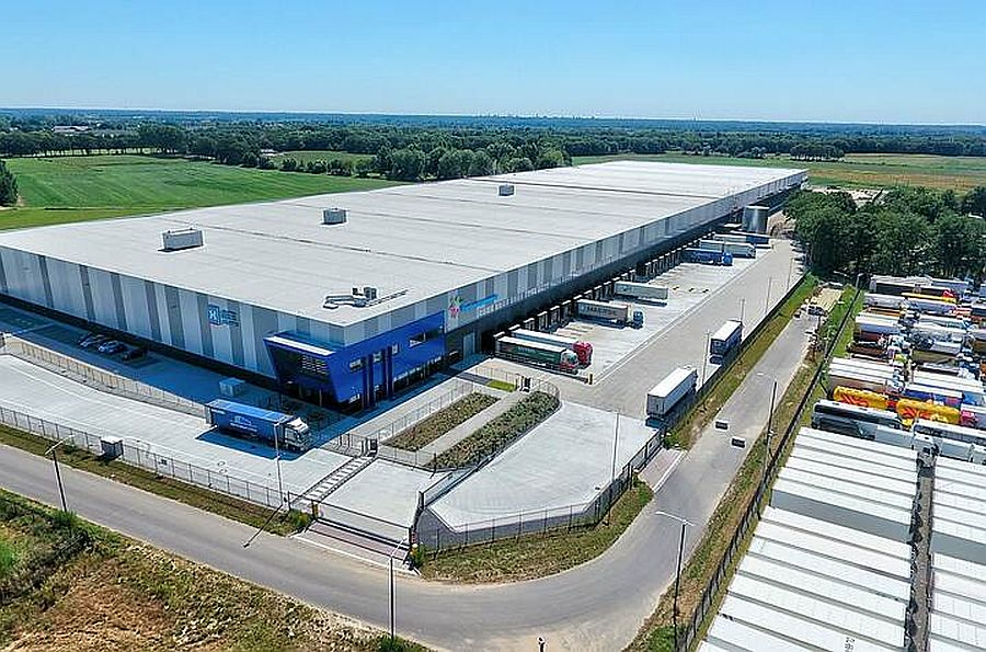 One of the logistics centres in the Netherlands