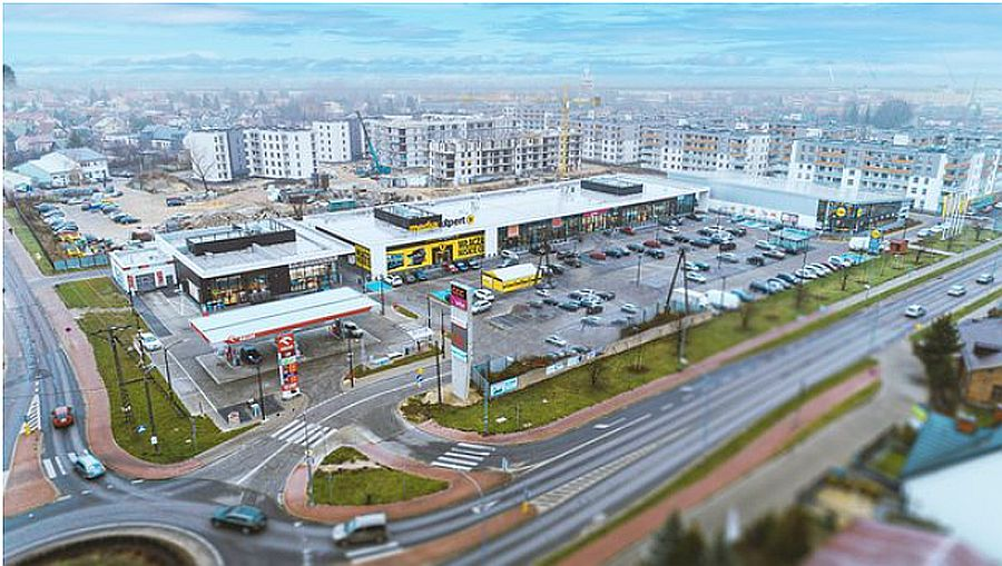 The HopStop retail park in Poland